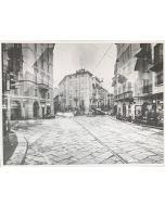 Gaetano Alfano, Milano Corso Magenta, fotografia su carta, 55,5x42 cm