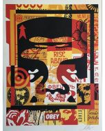 Obey, André the Giant (2), serigrafia, 45,5x61