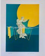 Lillo Ciaola, Stendino, Grafica Fine Art, 30x40 cm