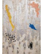 Francesco Cerutti, Ricerca, tecnica mista, 70x50 cm