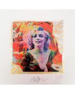 Giuliano Grittini, Marilyn Monroe, grafica Cracker Art (retouchè), 45x45 cm