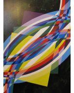 Filippo Scimeca, Il respiro della luce, olio e acrilico su tela, 50x70 cm, 2002