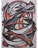 Filippo Scimeca, progetto di scultura, 43x56 cm