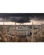 Francesco Langiulli, Immaginando un uragano a Milano