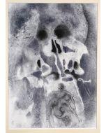 Salvador Dalì, Iosias sepultus in mausoleo patrum, litografia, 50x39 cm, tratta da La Sacra Bibbia, 1967