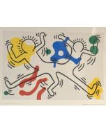 Keith Haring, poster, 80x60 cm