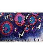 La Pupazza, Gocce stellari, grafica su PVC 31x47 cm
