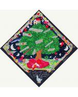 Francesco Musante, L'albero della Poesia nel giardino di P. Neruda, serigrafia materica, 35x35 cm