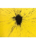 Julian T, Citrinitas, acrilico su tela, 100x80 cm, 2010