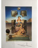 Salvador Dalì, Madonna di Port Lligat, litografia, 50x65 cm, 1988