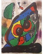 Joan Mirò, Original Lithograph I, litografia, 25x32 cm, 1981