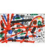 Joan Mirò, Cartons, copertina, litografia, 37x55 cm, 1965
