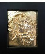 Salvador Dalì, La Musica, bassorilievo, 30x40 cm (40,5x47,5 cm con cornice)