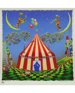 Meloniski da Villacidro, Circo, retouché, 58x60 cm