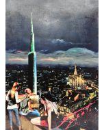 Pisati da Milano, Milano by night, retouché, 50x70 cm