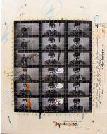 Enrico Pambianchi, Psycolabiland, tecnica mista su tela, 40x50 cm, 2014