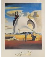 Savador Dalì, Ataviche vestigia dopo la pioggia, poster, 60x80 cm