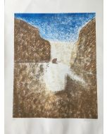 Savinio Ruggero, Senza titolo, litografia, 50x70 cm, 19 su 70