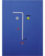 Bruno Budassi (Del Buda), Personaggio stellare, acrilico su tela, 70x50 cm