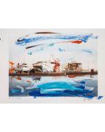 Alessandro Russo, Cantiere navale, Napoli 2012, retouchè, 46x32 cm