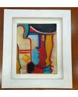 Carlo Massimo Franchi, Senza titolo, olio su tela, 24x31cm