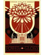 Obey (Shepard Fairey), Power Glory, serigrafia, 90x61 cm