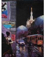 Pisati da Milano, Storie, el Dom, retouché, 18x24 cm