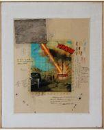 "Enrico Pambianchi, ""Thoom"", tecnica mista su tela, 32x40 cm, 2012"