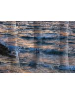 Norma Picciotto, Tra mare e terra, fotografia con elaborazione digitale, stampa su Elicobond 100x70 cm