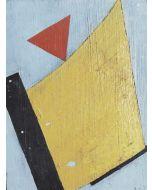 Anonimo, Astratto, Olio su tavola, 7,5x10 cm